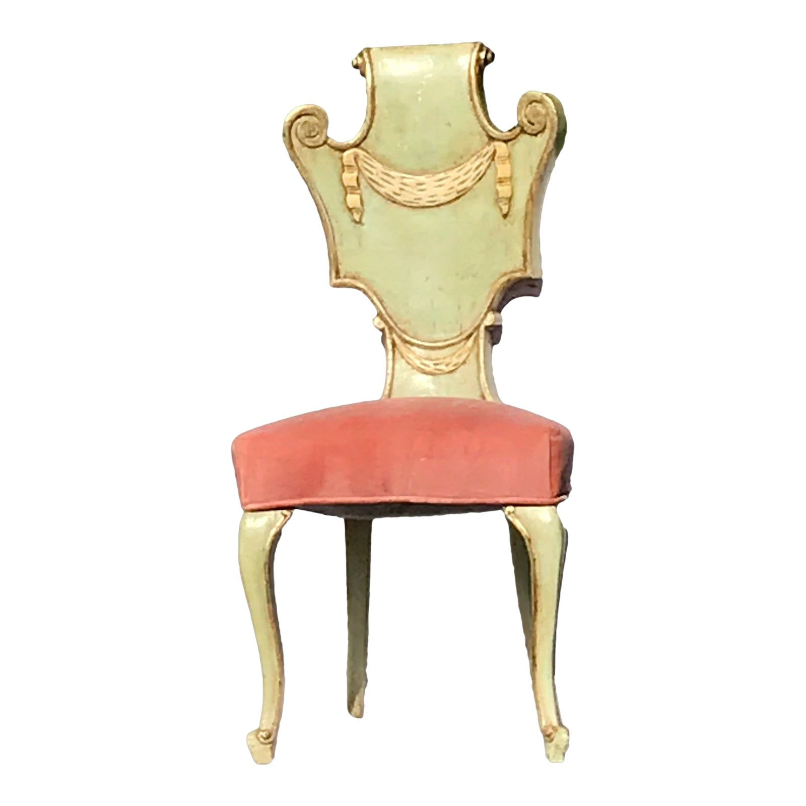 Custom Made French Provincial Accent Or Desk Chair French Provincial Desk Chair Chair