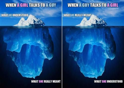 Talking To Guys vs. Girls #Talking #Iceberg | Funny Men vs ...