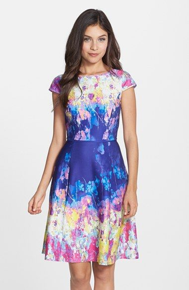 Casual and Dressy Casual Wedding Guest Dresses Fit flare dress