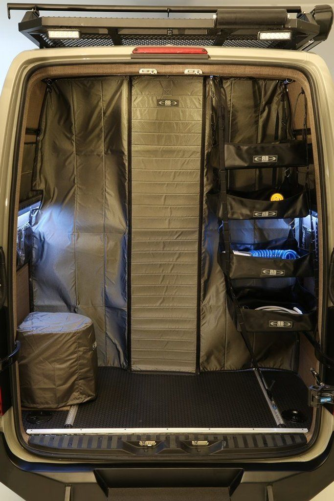 07+ Sprinter Van Fabric Partition High Roof Sprinter van