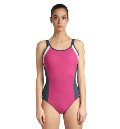 From the makers of the lingerie and sports bra line designed to make larger-chested women feel and look amazing, this FREYA Active Zipped Suit ($98; freyalingerie.com) offers a great shape, smooth silhouette, and impressive support. Whether you're training for a triathlon or swimming laps, this quick drying, chlorine-resistant suit offers a no-fuss flattering fit so you can focus on your workout, not what you're wearing.