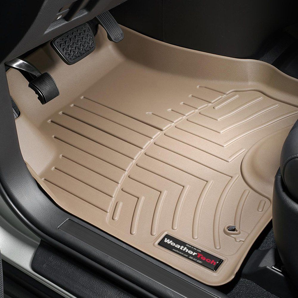 WeatherTech Custom Fit Front FloorLiner for Nissan Murano Black 441541