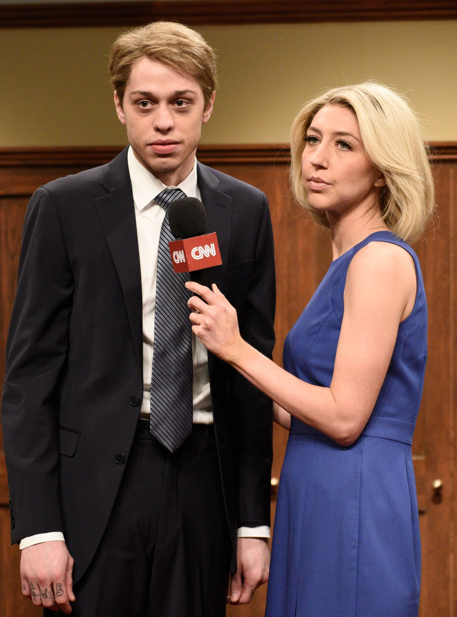 """How The """"SNL"""" Cast Is Rallying Around Pete Davidson"""