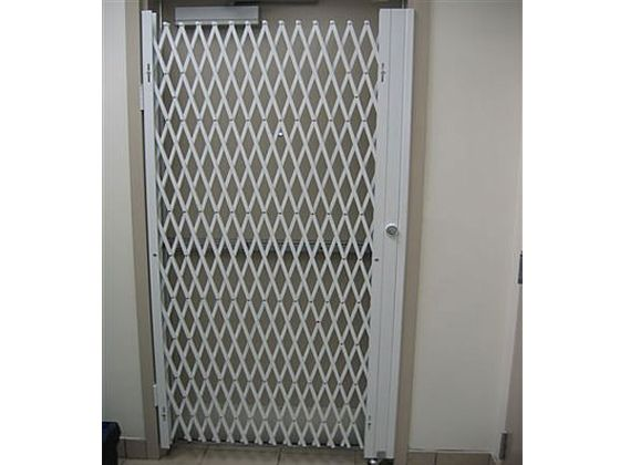 Double Diamond Folding Gate For Door Security