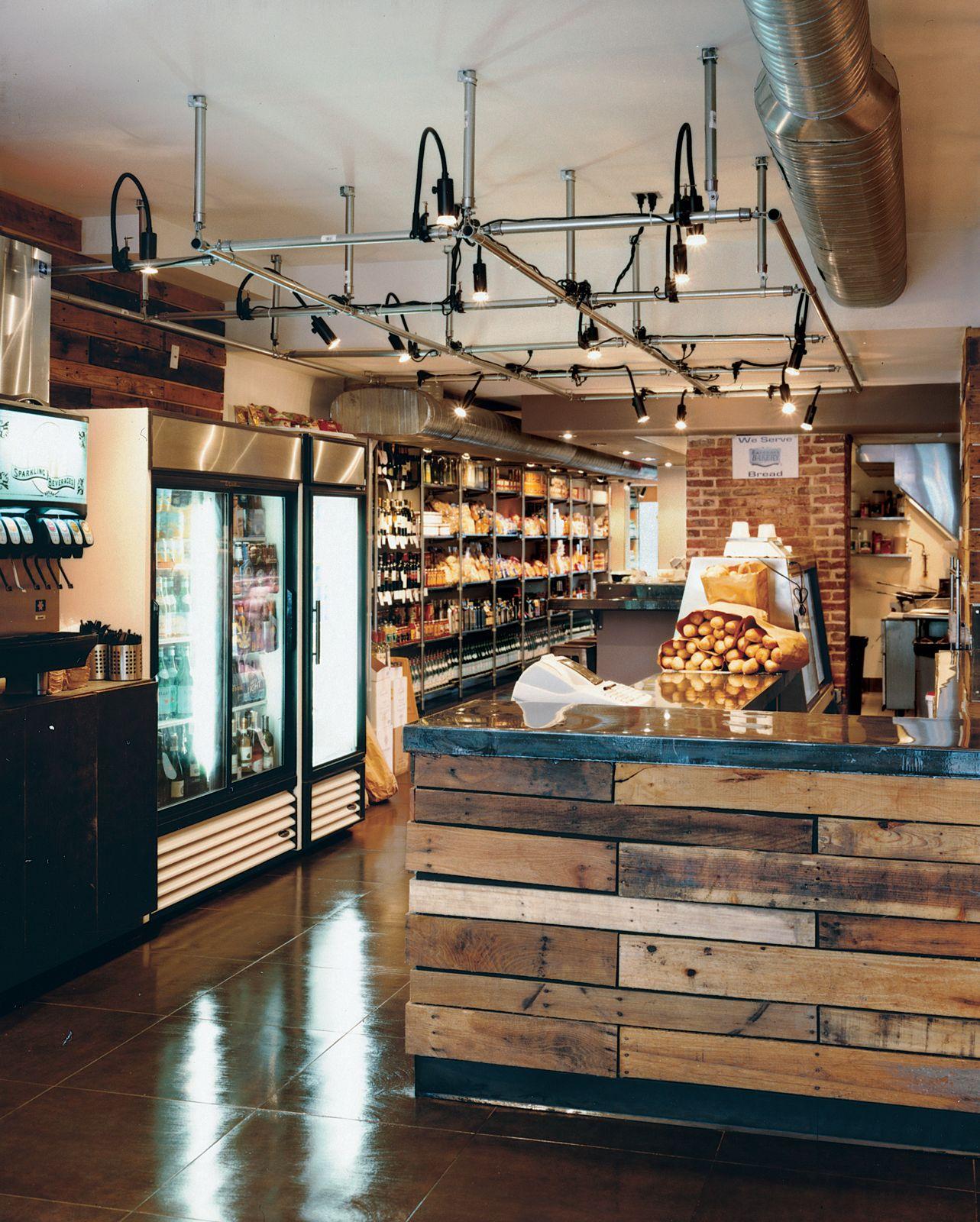 Cafetería Rústica, Diseño De