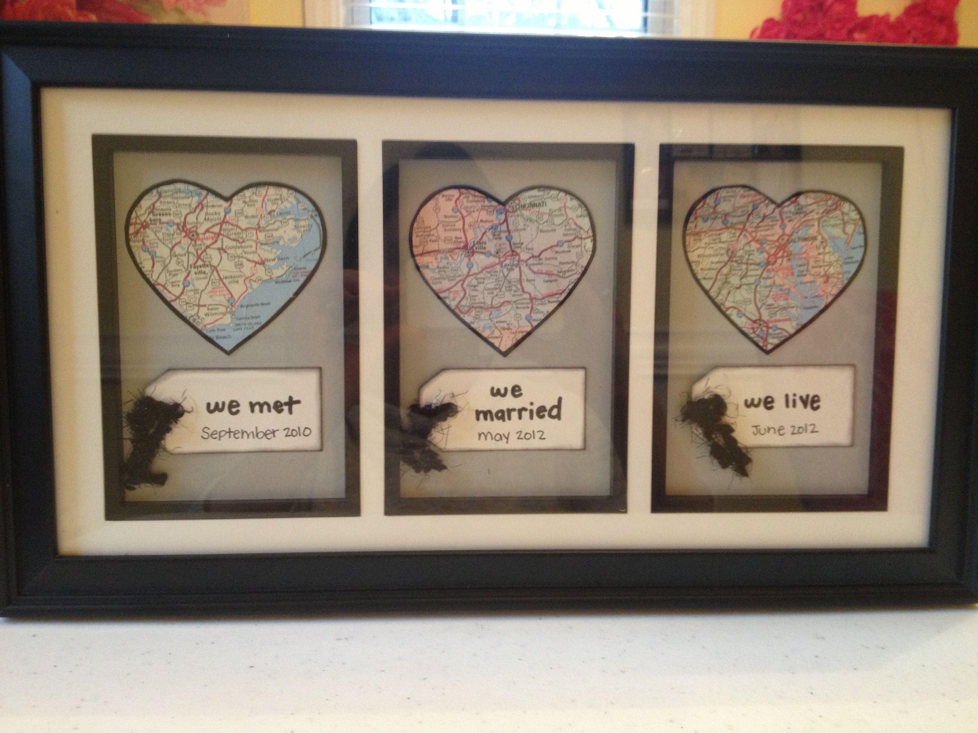 Craft Wedding Gifts: We Met We Married We Live Craft :)