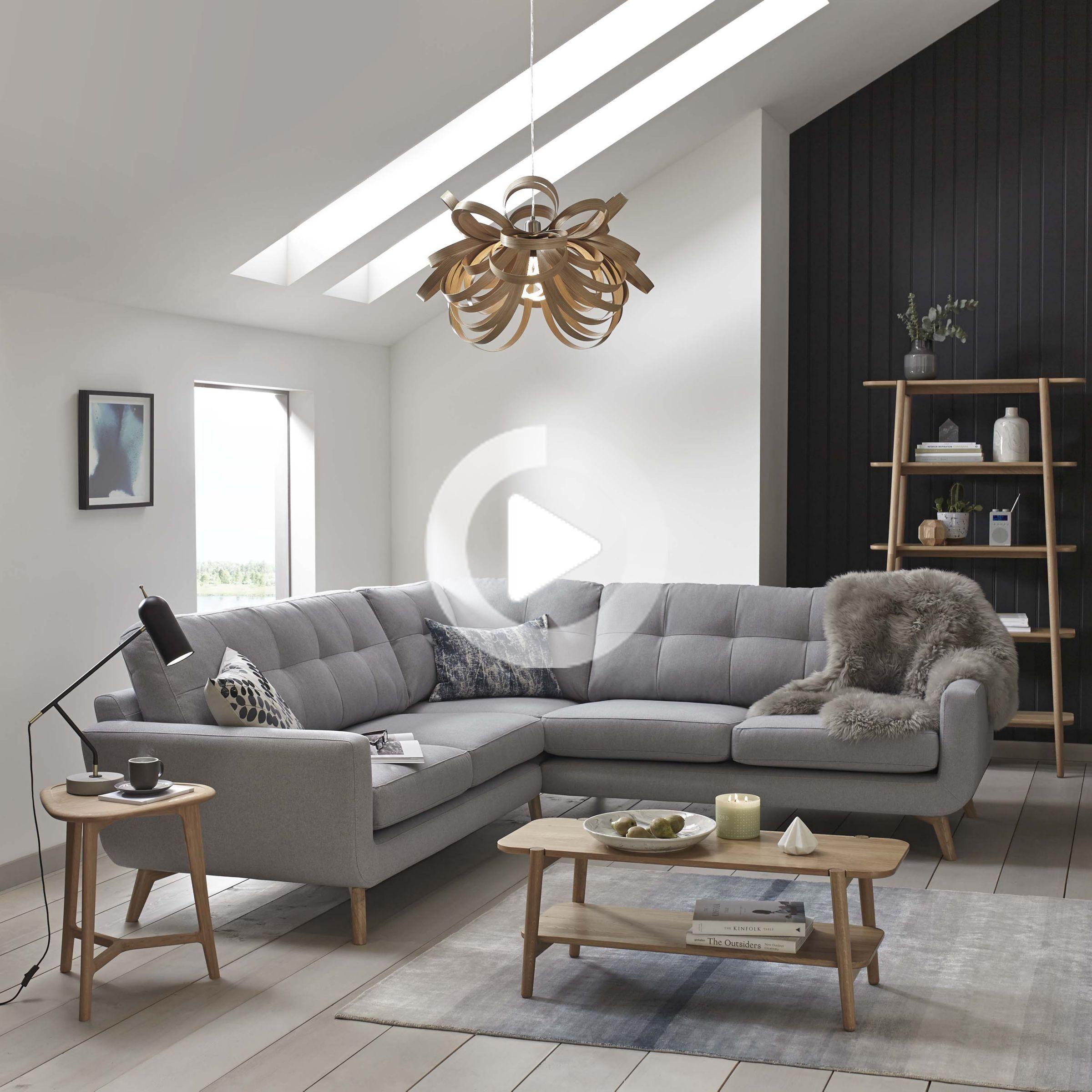 John Lewis Partners Barbican Rhf Chaise End Sofa At John Lewis Partners In 2020 Corner Sofa Living Room Bedroom Furniture Redo Corner Sofa