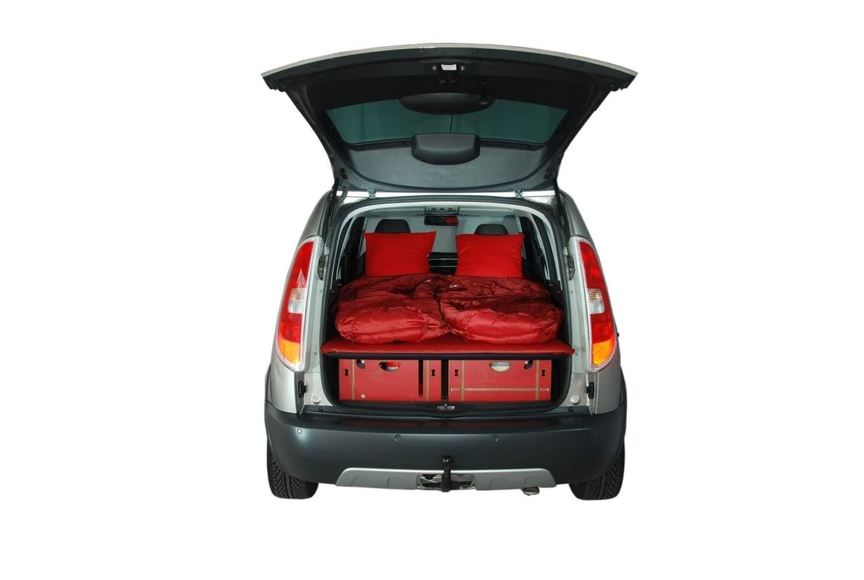 Small Car Camper The Swiss Roombox Is Like A Camper In A Box Turning Your Small