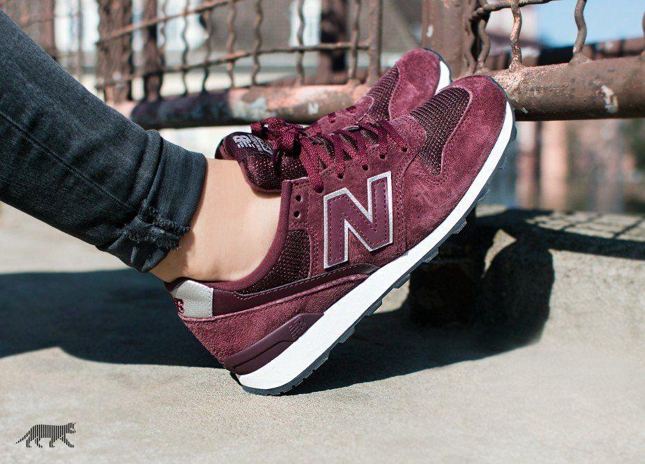 996 new balance burgundy