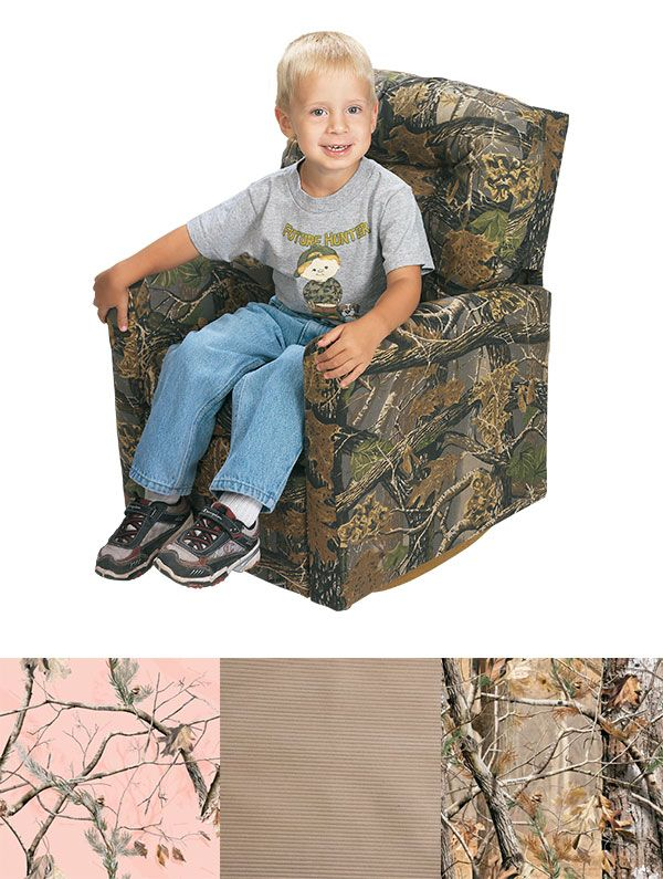 Everyone In The Family Should Have A Little Camo   Take A Look At This Chair  For Kids.