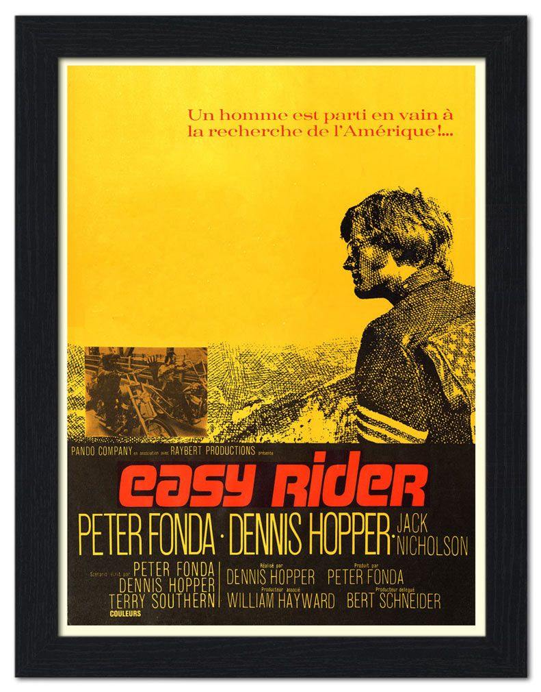 Easy Rider Original Movie Poster | For Nick | Pinterest