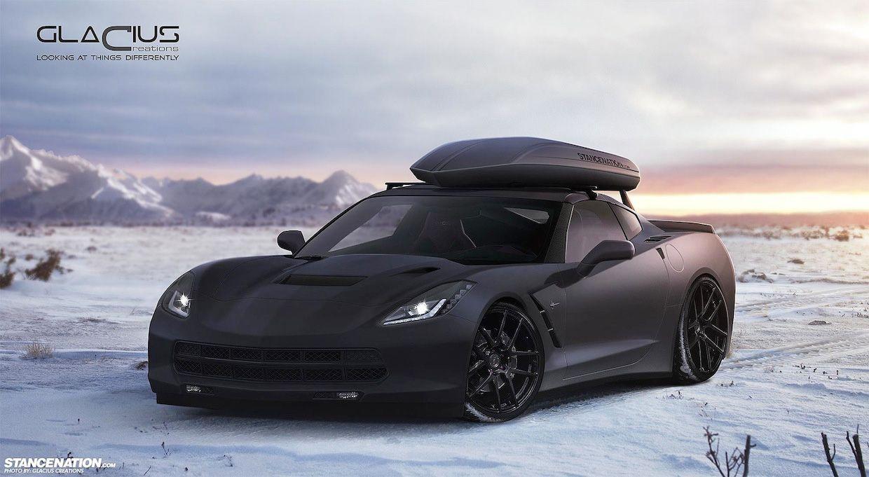 skiing matte black and corvettes on pinterest - 2015 Corvette Stingray Matte Black