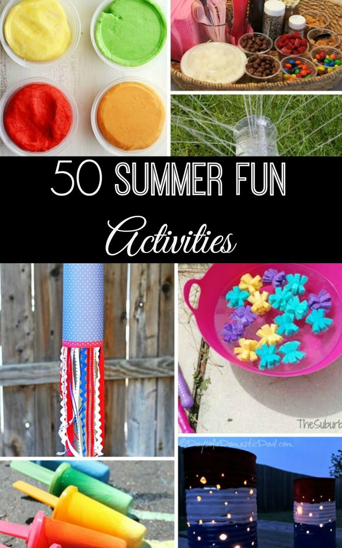 Looking For Fun Easy Creative Things To Do With Your Kids This