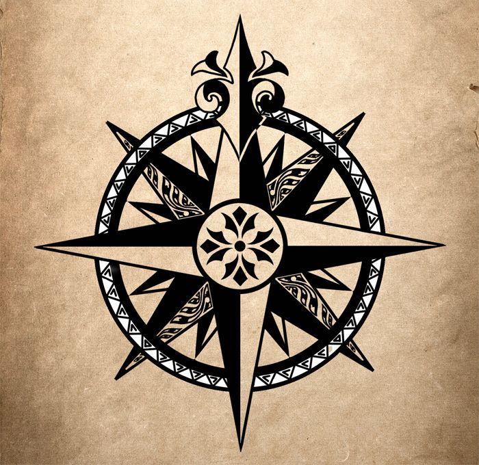 Compass By Ulvgar On Deviantart Compass Rose Tattoo Compass Tattoo Compass Tattoo Men