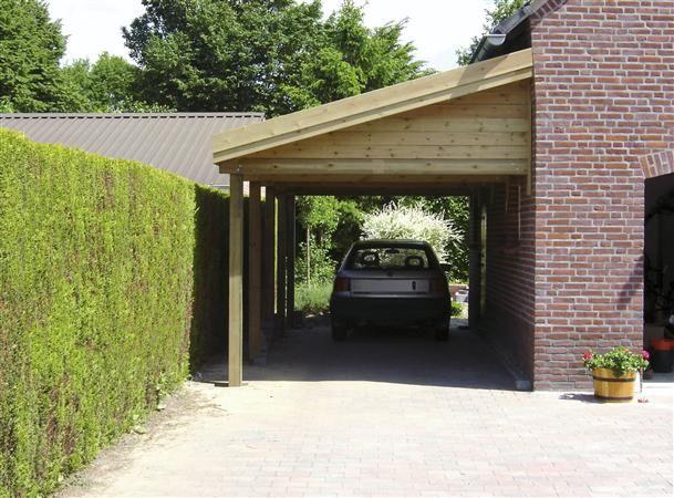 carports koekuyt tuinhuizen carports garages carports mono line hellend dak