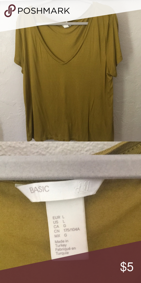 fd46aaaccec H M basic tee Only wore once Tops Tees - Short Sleeve
