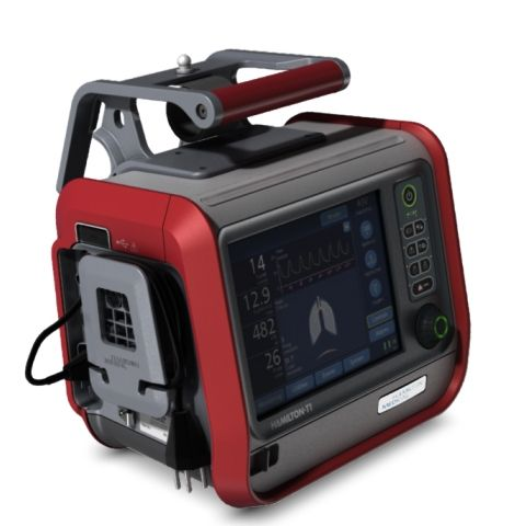 Hamilton T1 Transport Ventilator Hamilton Medical Medical Design Healthcare Design Tool Design