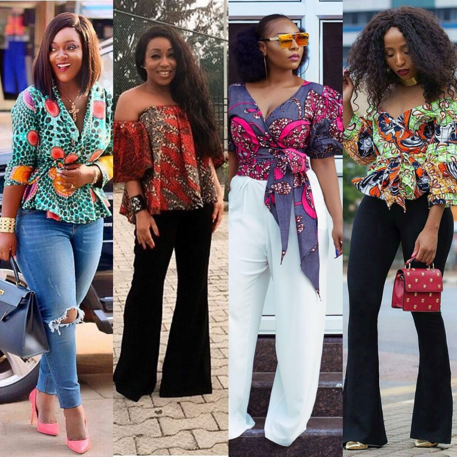0b747bf54bcc1 Ankara tops with peplum shape give a figure that blends through all the  curves of your body and a confidence boost that gives you that satisfactory  feeling.