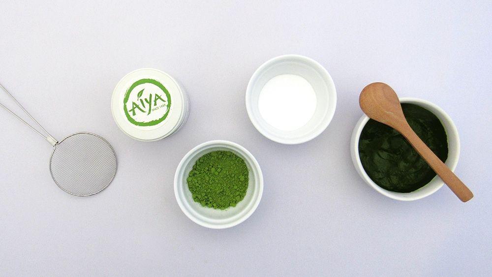 Diy Matcha Green Tea Face Mask Aiya Matcha Green tea
