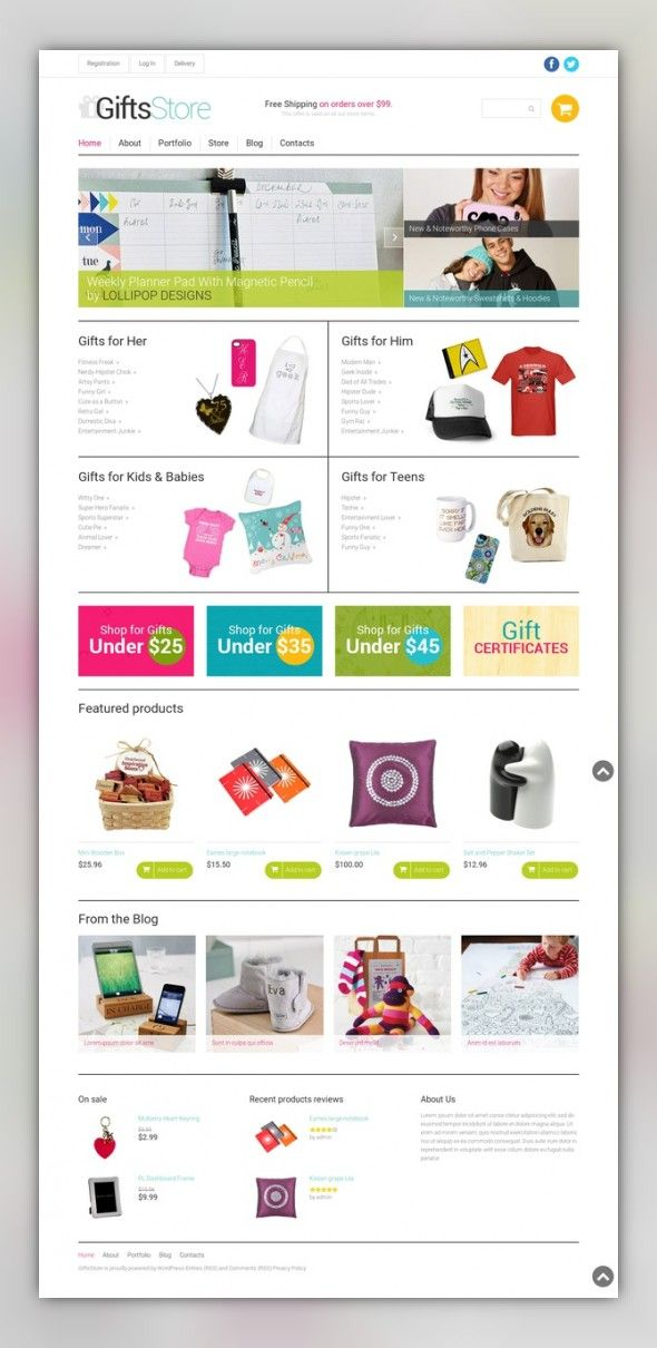 Gifts Responsive Woocommerce Theme E Commerce Templates Themes Holidays Flowers