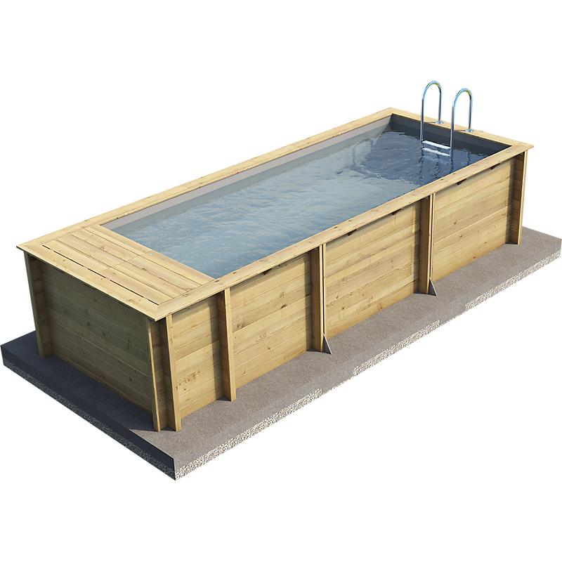 loisirs e leclerc piscine bois
