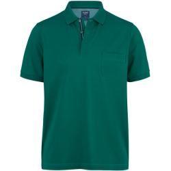Photo of Camisa pólo casual Olymp, ajuste moderno, cinza-verde, Xl Olymp