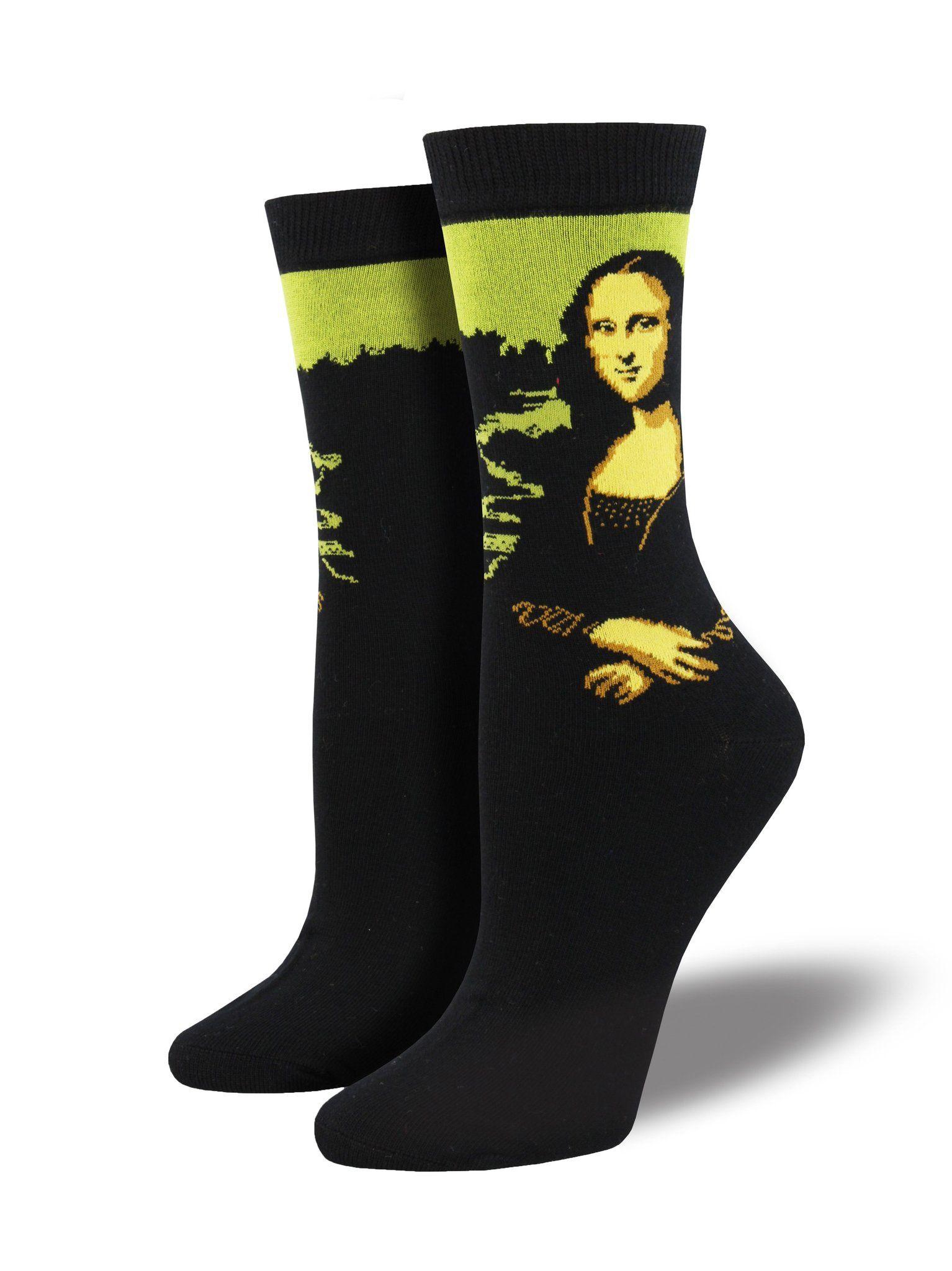 Socksmith Womens Mona Lisa