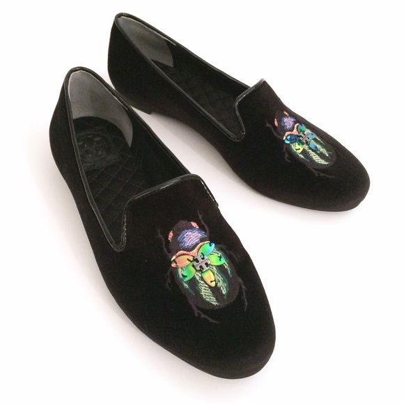 348b9f9bd30 Tory Burch Beetle Bug Le Smoking Loafer Flats Gorgeous and brand new ...