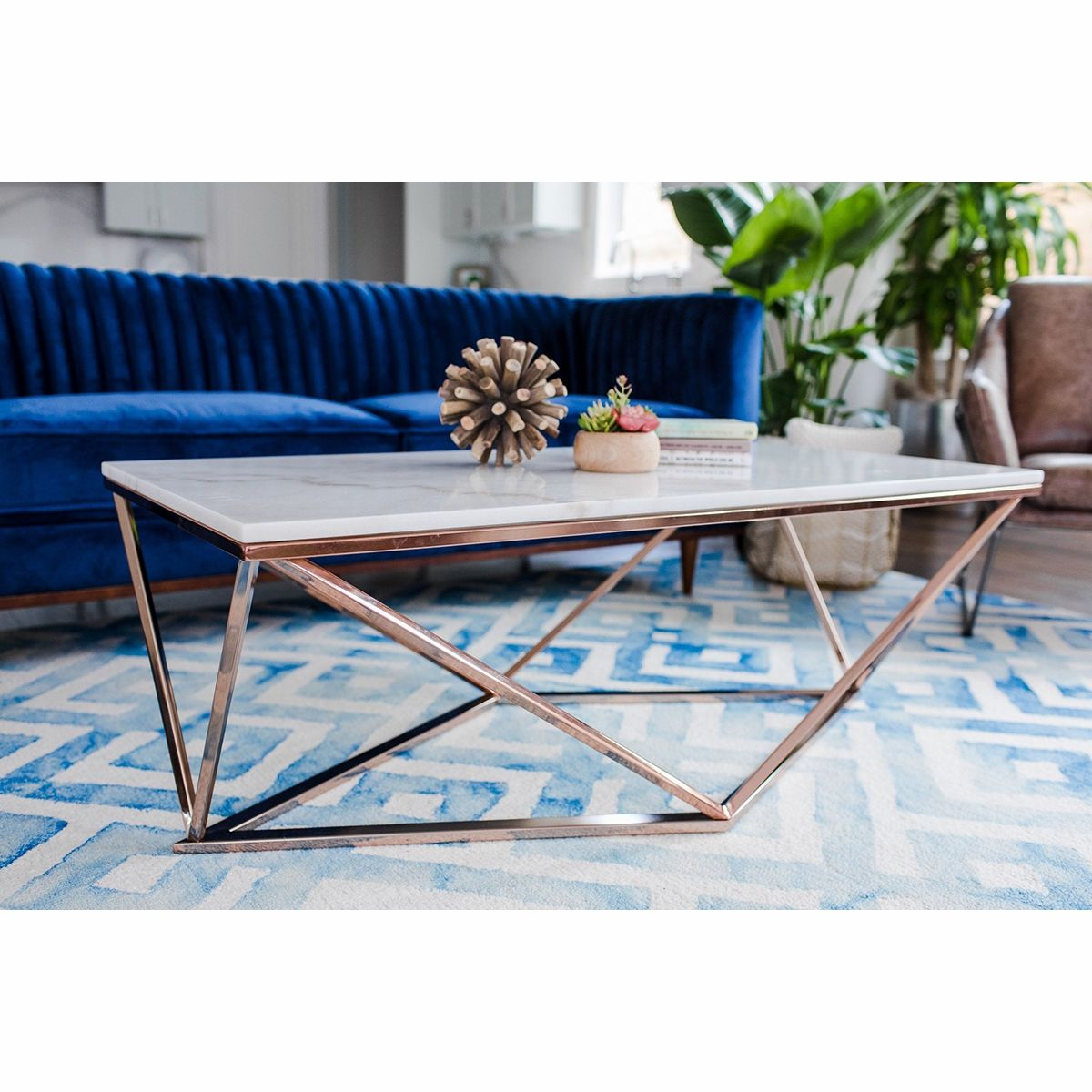 Aria Rose Gold Coffee Table Gold Coffee Table Coffee Table Living Room Coffee Table [ 1200 x 1200 Pixel ]