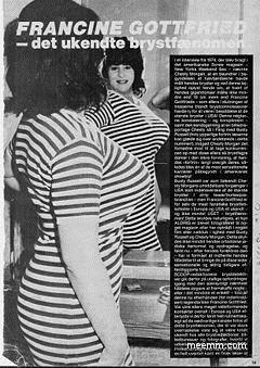 Francine Gottfried Wall Street Sweater Girl The
