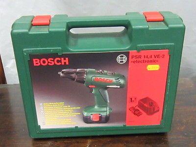 Bosch Akku Schrauber PSR 14,4 VE 2, electronic NEUsparen25