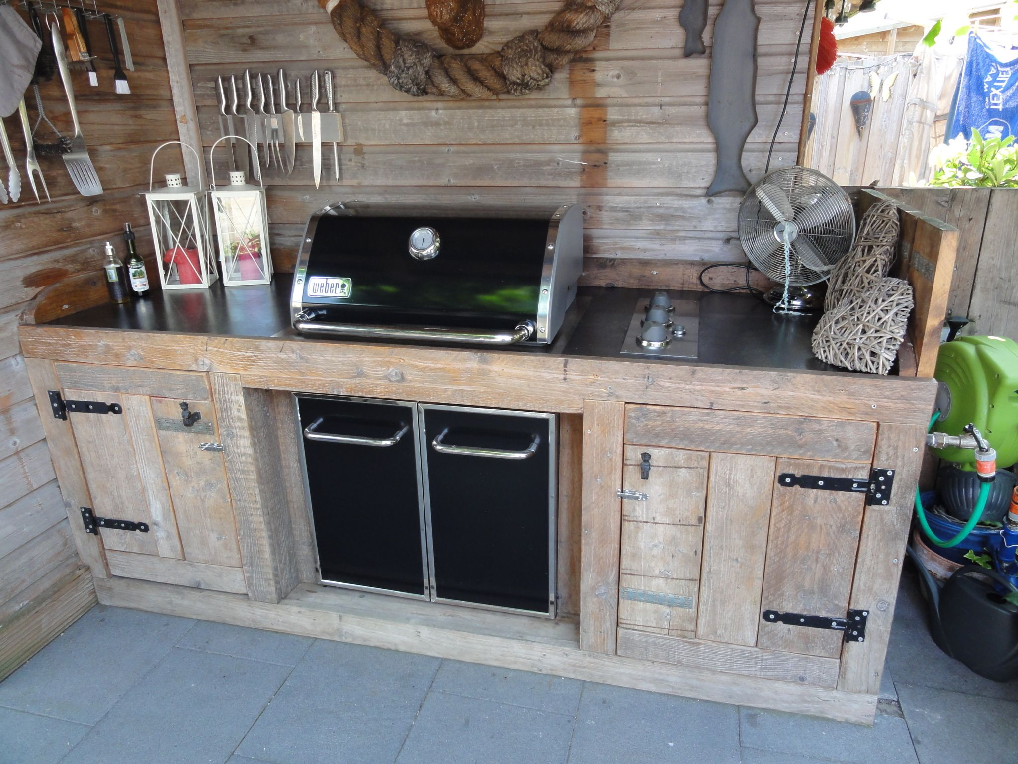 Buiten Keuken Bbq Weber Genesis Buiten Keuken Out Door Kitchen In 2019 Diy