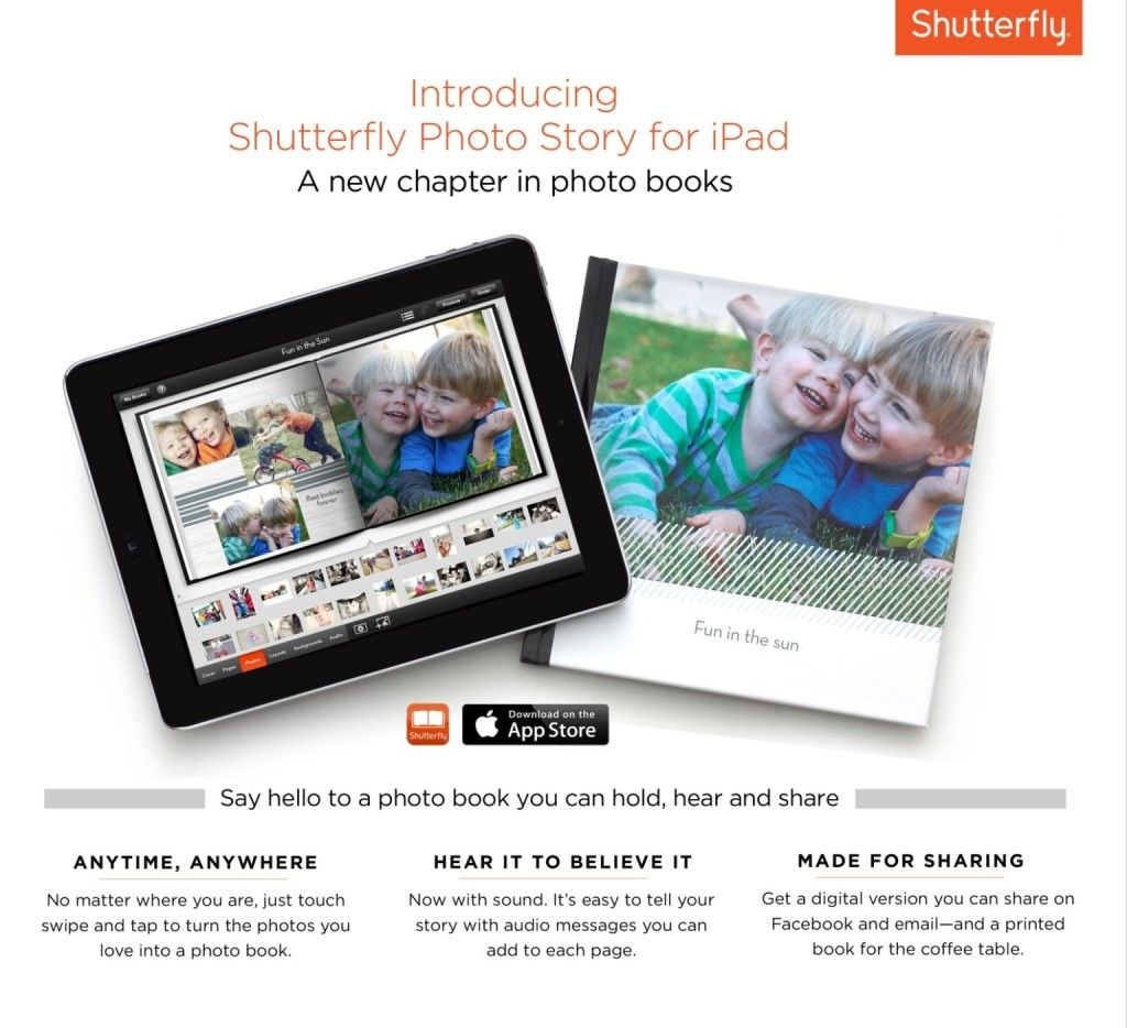5 Time Saving Tips with Shutterfly Photo Story for IPad