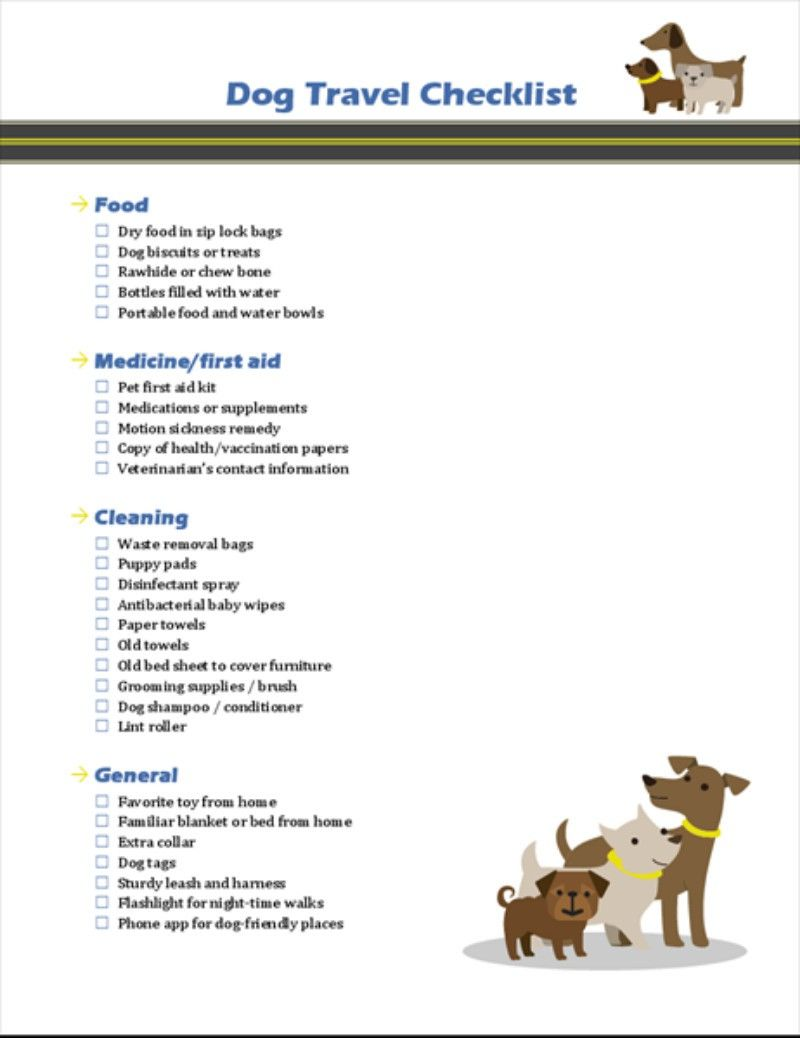 Dog Travel Checklist Dogs Dogowner Dogownertips Canine Klasterme Dog Travel Travel Checklist Travel
