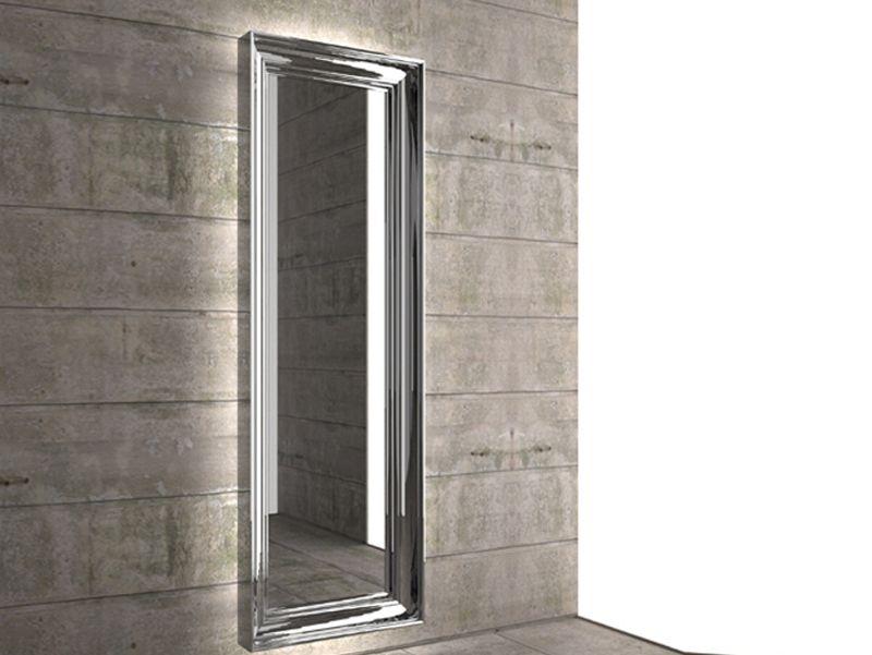 Termoarredo a specchio spekkio by k8 radiatori design marco pisati