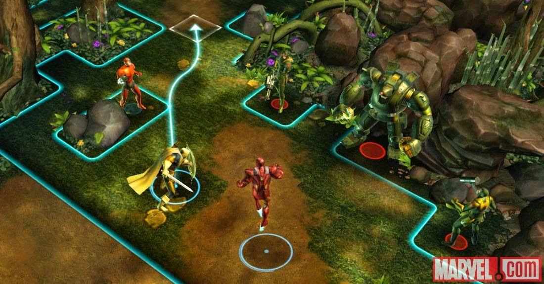 Marvel Avengers Alliance Tactics brings 3D squadbased