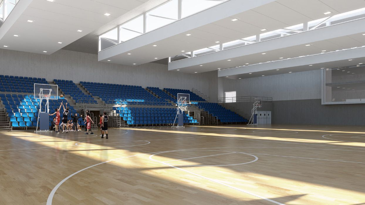 Centro Deportivo Vallehermoso / ABM arquitectos