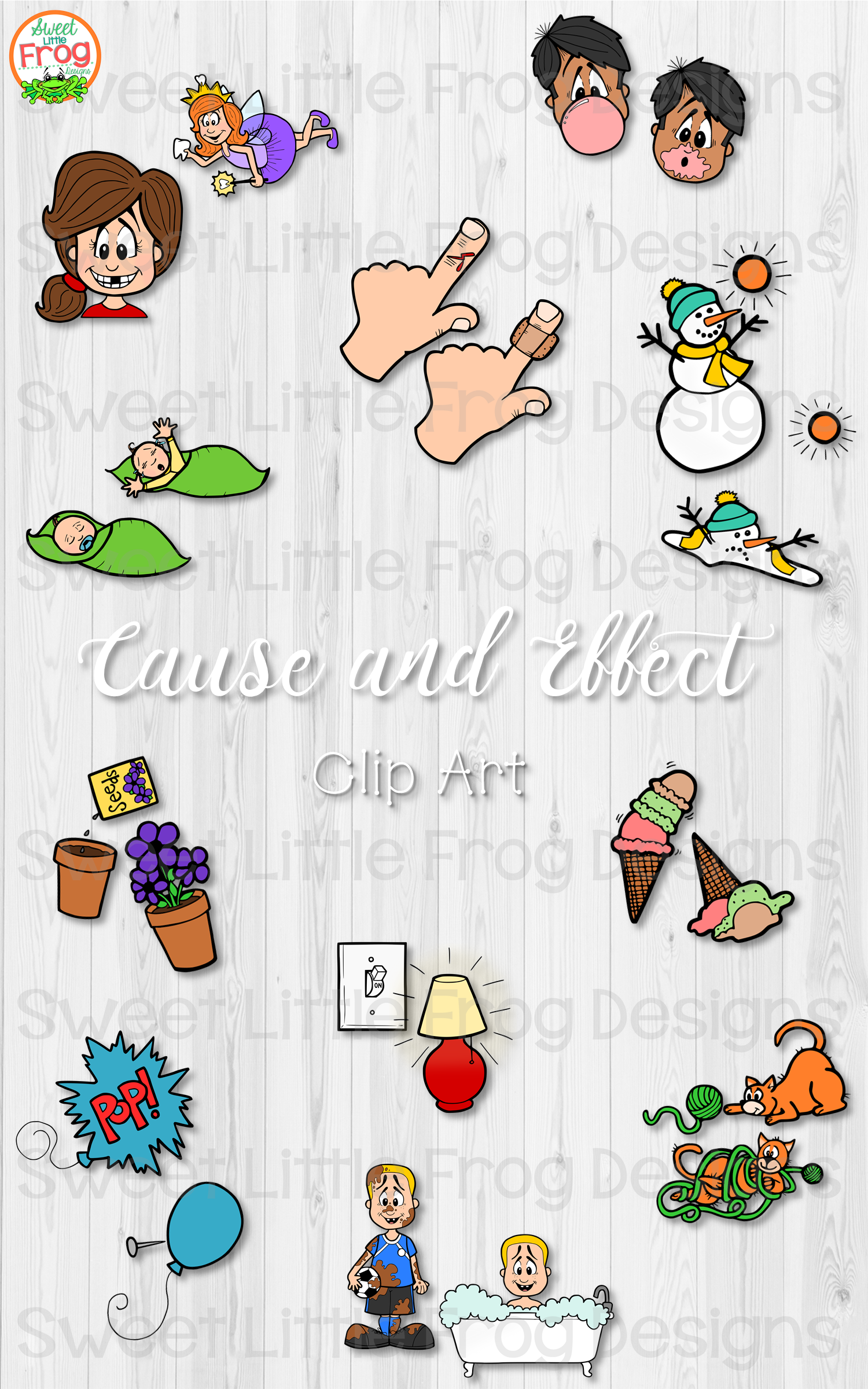 Cause And Effect Clip Art