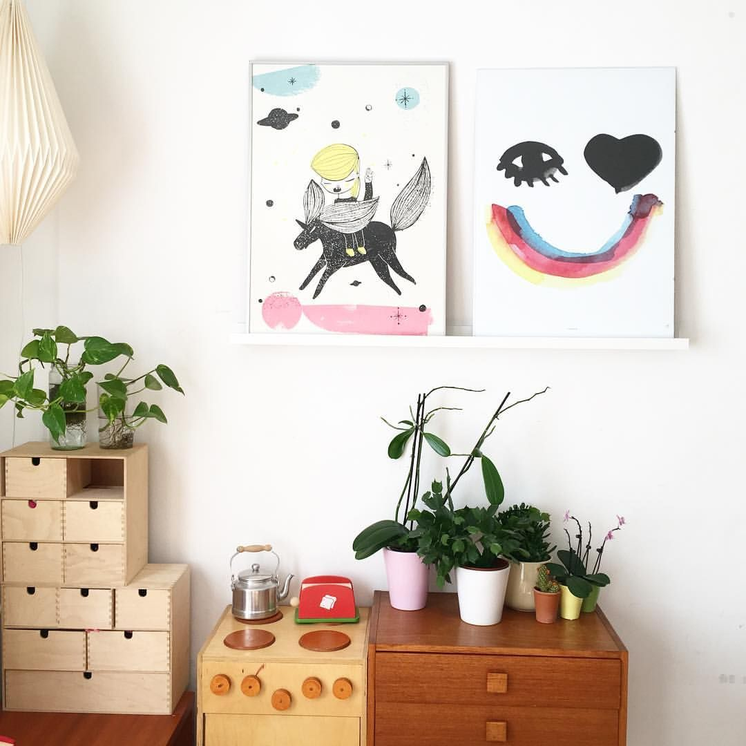 Kinderzimmer & Illustrationen via InstagramFoto von