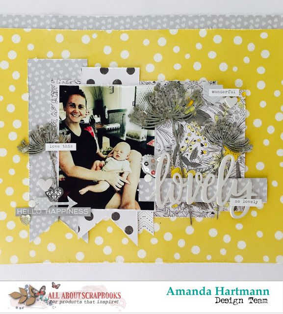 All About Scrapbooks Australia Lovely By Amanda H Scrapbook 2