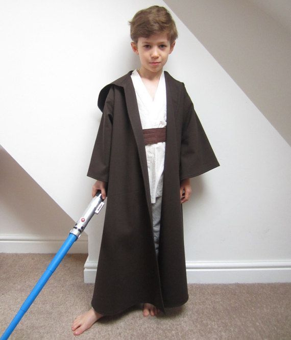 Jedi Robe Star Wars Cloak Luke Skywalker Costume Sewing Pattern Kids Obi Wan Kenobi Anakin Boys  sc 1 st  Pinterest & Jedi Robe Star Wars Cloak Luke Skywalker Costume Sewing Pattern Kids ...