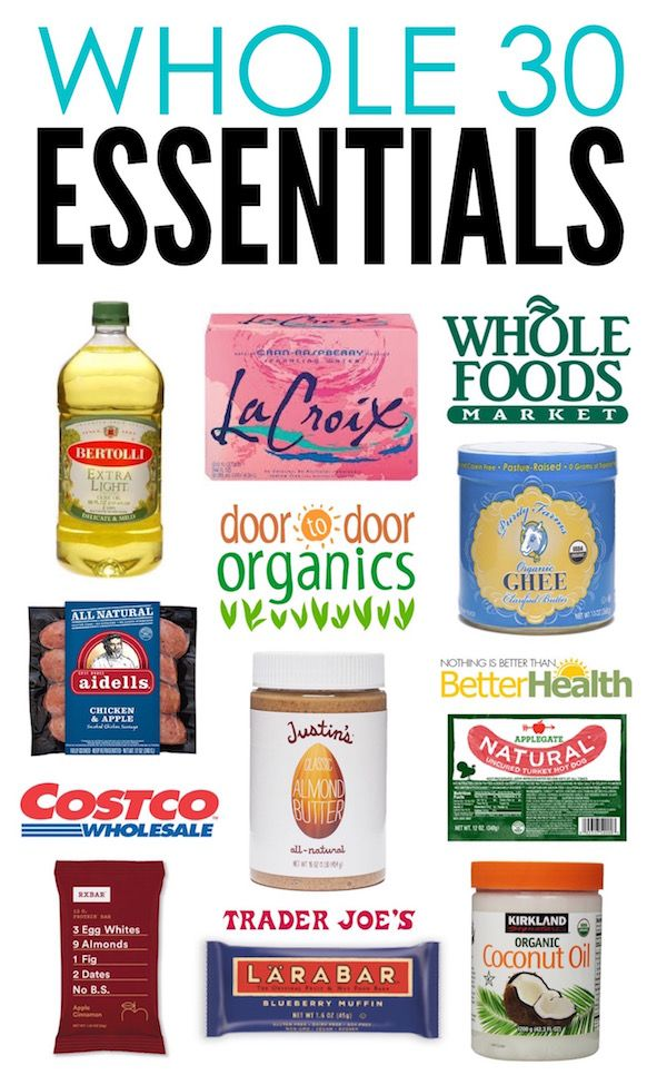 Whole30 Essentials Where to Shop and What to Buy Whole
