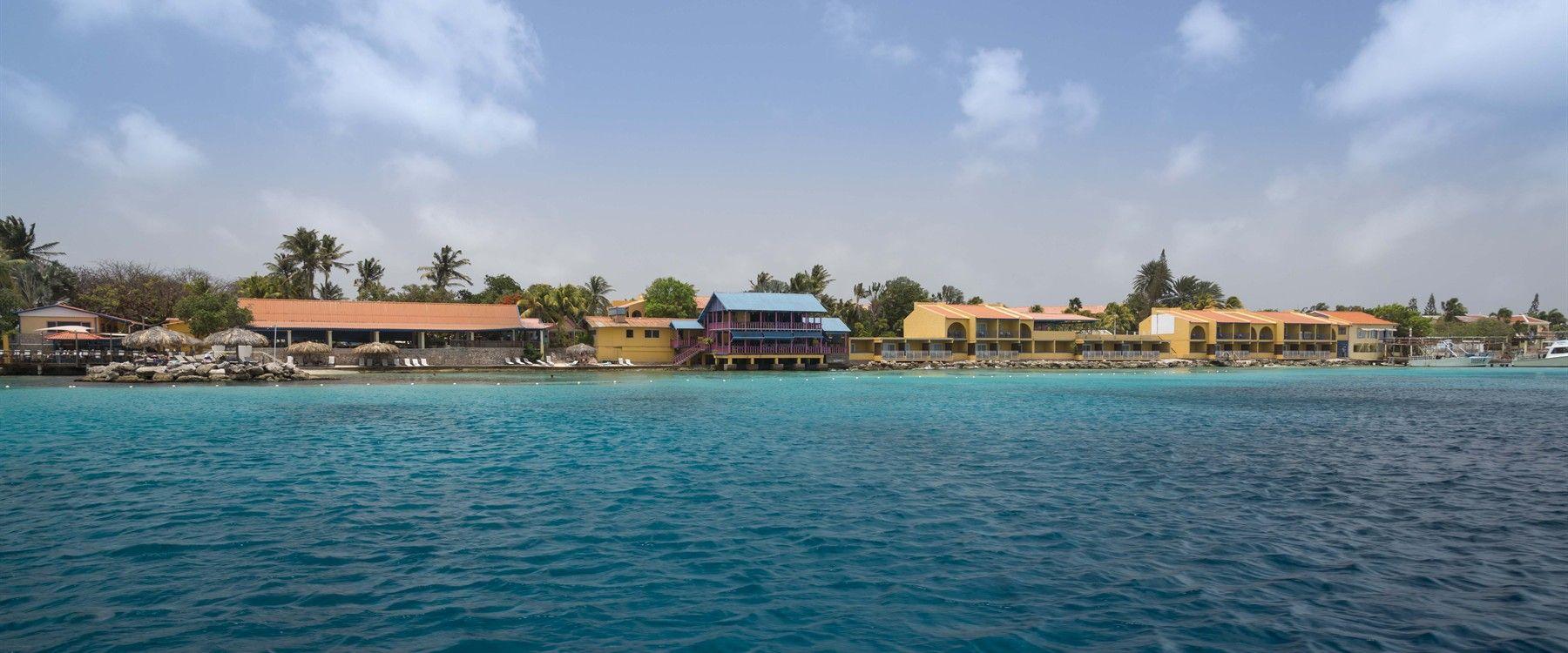 Beach Location of Divi Flamingo Beach Resort