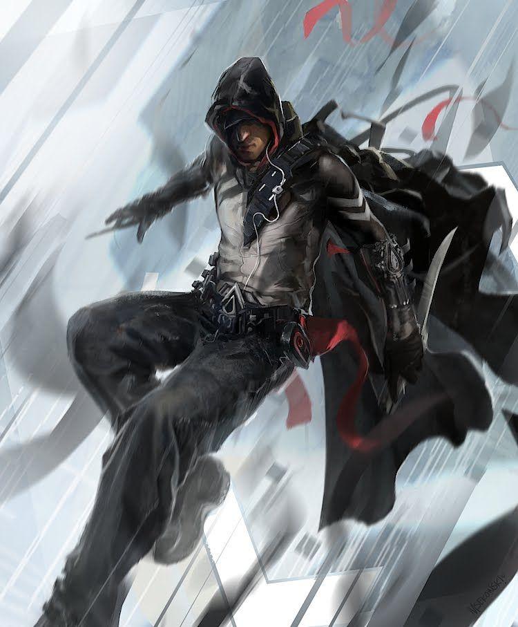 Future Assassin Arte De Personajes Arte De Videojuegos