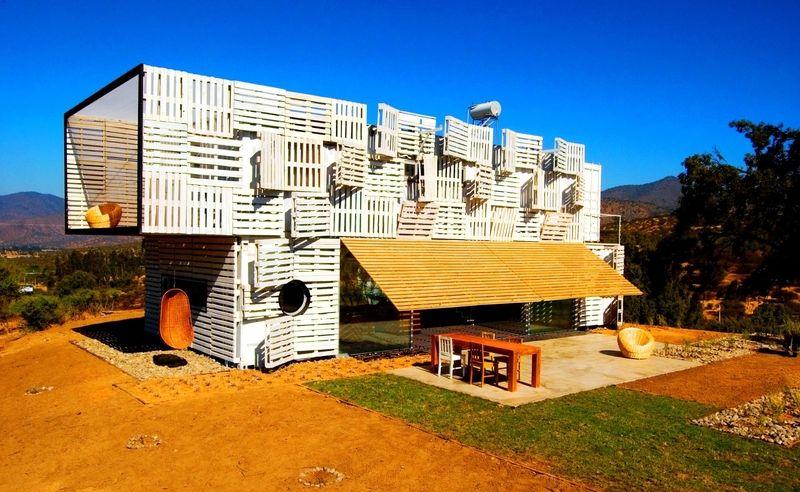 Une maison bois bioclimatique contemporaine totalement éco-conçue