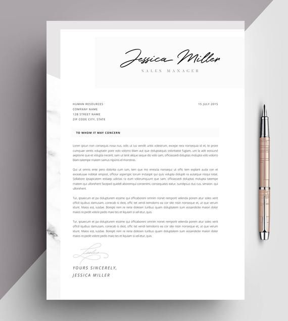Professional Resume Template Cv Template Editable In Ms Word And Pages Instant Digital Download Size A4 And Us Letter Professioneller Lebenslauf Lebenslauf Lebenslaufvorlage