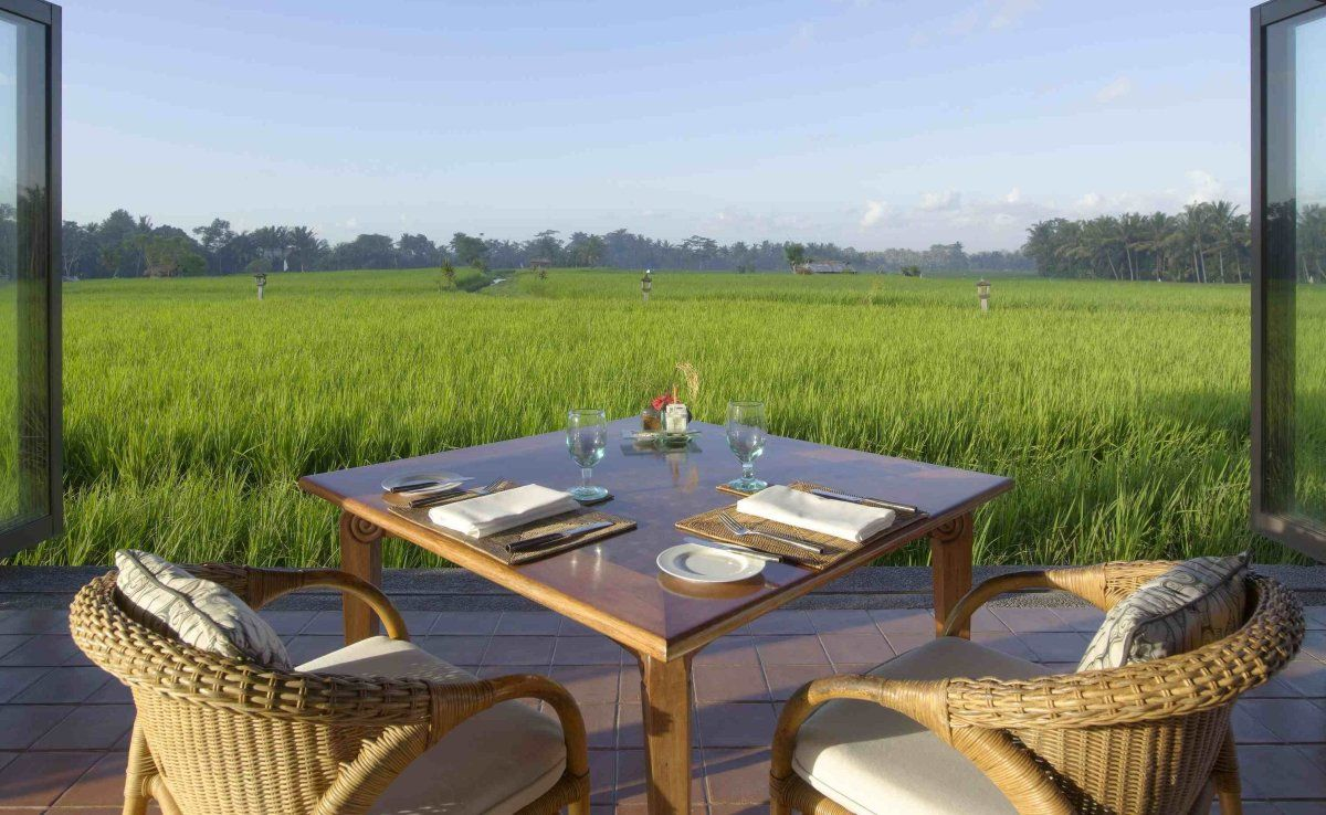 Asian Hotels with Captivating Views Ubud, Outdoor
