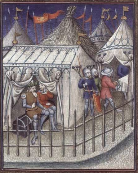 A Commonplace Book: Rectangular Medieval Tents