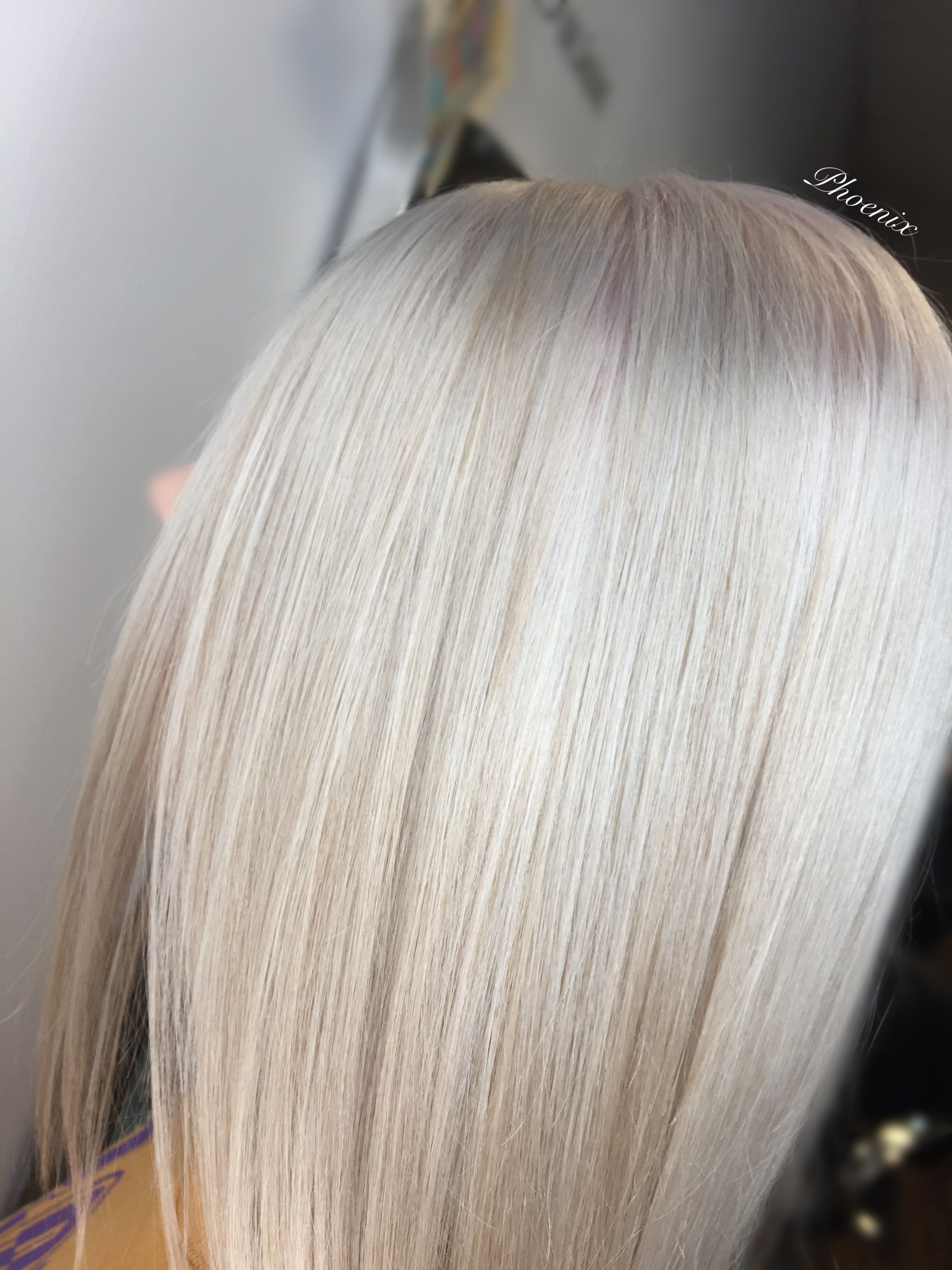 Full head bleach & tone cut & style with cloud 9 Hair transformation Blonde hair Ash pearl blonde hair Ice hair Custom mix foils hair salon bishop auckland County Durham North East salon Cloud9 We stock and use Olaplex Matrix Affinage Joico Kenra Wella Fanola Osmo Ghd Moroccanoil Shellac Billion dollar brows We also offer Lash lift, Waxing & Tinting Member of nhf