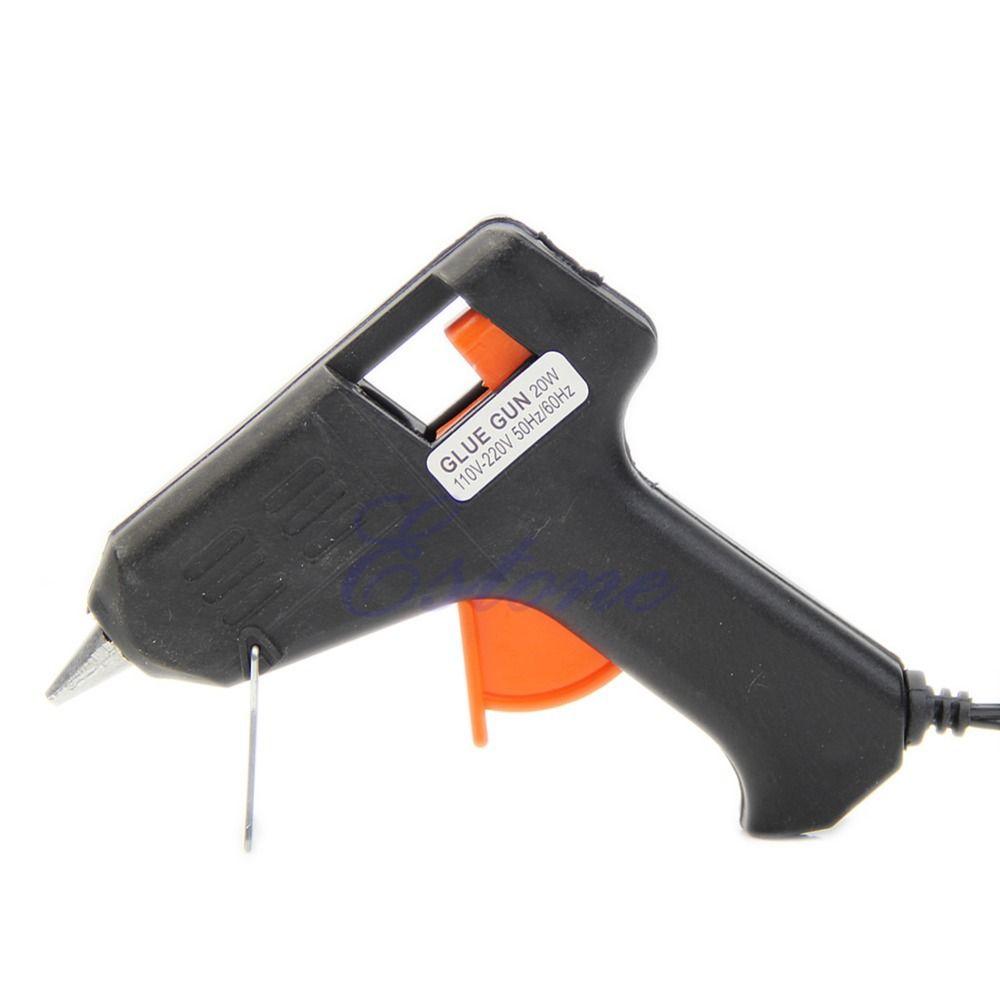 Beter 1 stuk Art Craft Repair Tool Hotmelt Lijmpistool 20 W Elektrische Verwarming Lijmpistool met retail-pakket